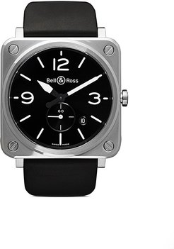 BR S Steel 39mm - BLACK B BLACK