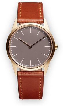 C33 Two-Hand watch - Brown