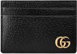 GG Marmont leather money clip - Black