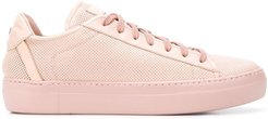logo low-top sneakers - Pink