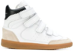 Bilsy high-top sneakers - White