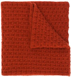 knitted scarf - Red
