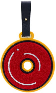 Letter O luggage tag - Red