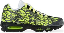Air Max 95 Premium logo sneakers - Black