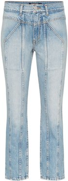 Rider cropped skinny jeans - Blue