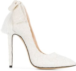 Izo Bow pumps - White