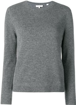 fitted cashmere sweater - Grey