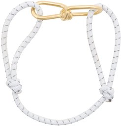 small Wire cord bracelet - White