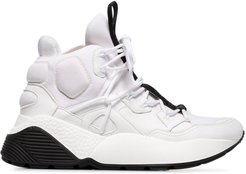 white Eclypse 45 high top chunky sneakers