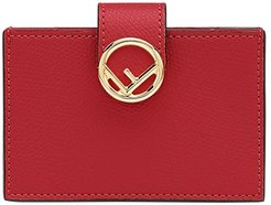F card holder - Red