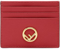 F is Fendi cardholder - Red