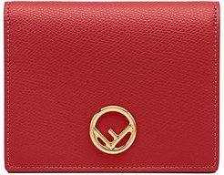 small logo wallet - Red