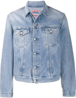 boxy denim jacket - Blue