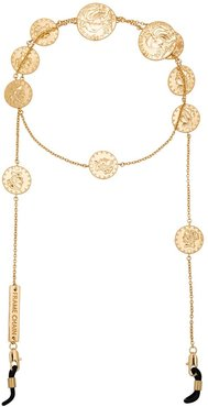 gold plated Lucky Coin belcher chain
