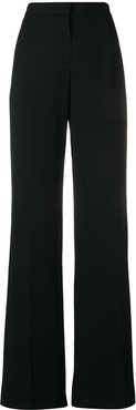 tailored fit trousers - Black