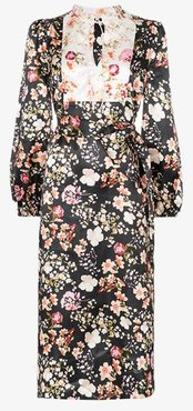 byTiMo Tie detail floral dress