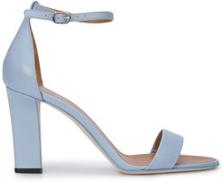 ankle strap sandals - Blue