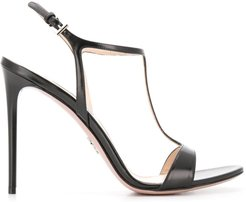 stiletto sandals - Black