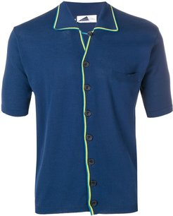 Marcello short-sleeve cardigan - Blue