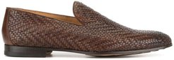 woven loafers - Brown