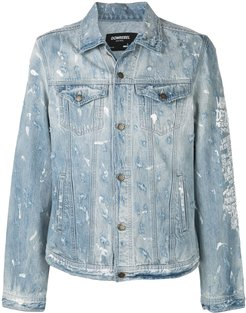 Jumper denim jacket - Blue