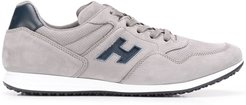 lace-up sneakers - Grey