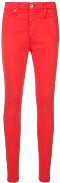 skinny jeans - Red