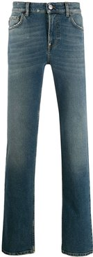 Fitted 5-Pocket jeans - Blue