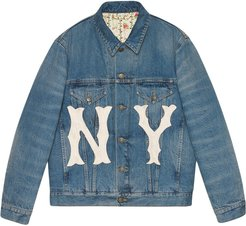 Yankees denim jacket - Blue