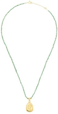 Hygeia pendant necklace - Green