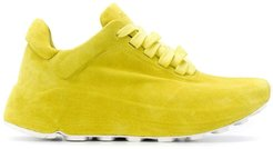chunky sole sneakers - Yellow