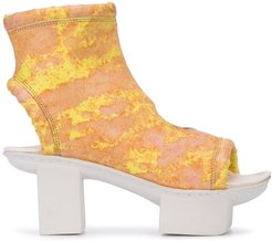Tripped Metro boots - Yellow