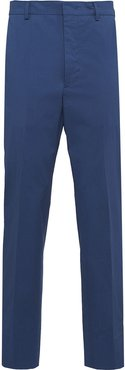 stretch tailored trousers - Blue