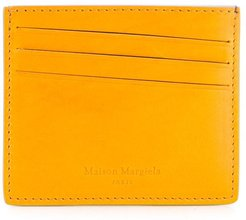 logo embossed cardholder - Yellow
