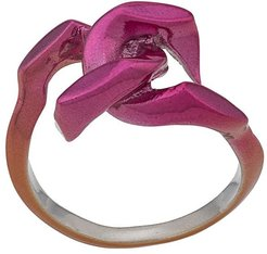 tiny dechainee ring - Pink