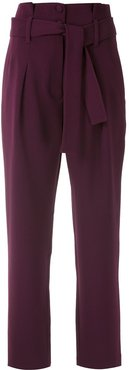 tailored trousers - PURPLE