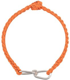 Small Wire Cord Bracelet - Orange
