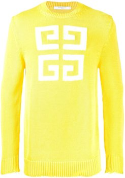 Logo sweater - Yellow