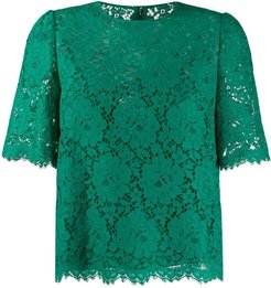 lace top - Green