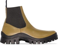 Catania chunky ankle boots - Green