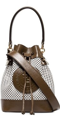 Mon Tresor bucket bag - White