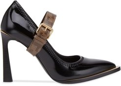 Mary Jane FFrame court shoes - Black