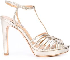 Angelica strappy sandals - GOLD