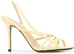 Tiffany open-toe sandals - Yellow