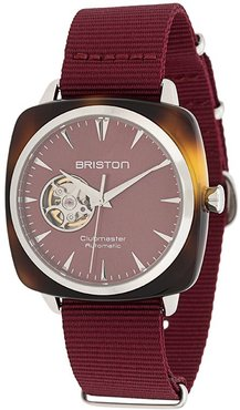 clubmaster iconic acetate watch - Red