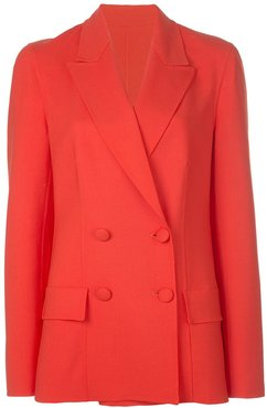 double breasted blazer - Red