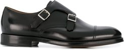 buckled loafers - Black