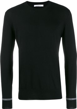Givenchy webbing wool sweater - Black
