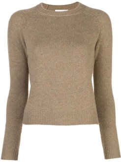 Mila cropped sweater - Brown