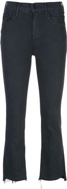 high rise skinny fit jeans - Black